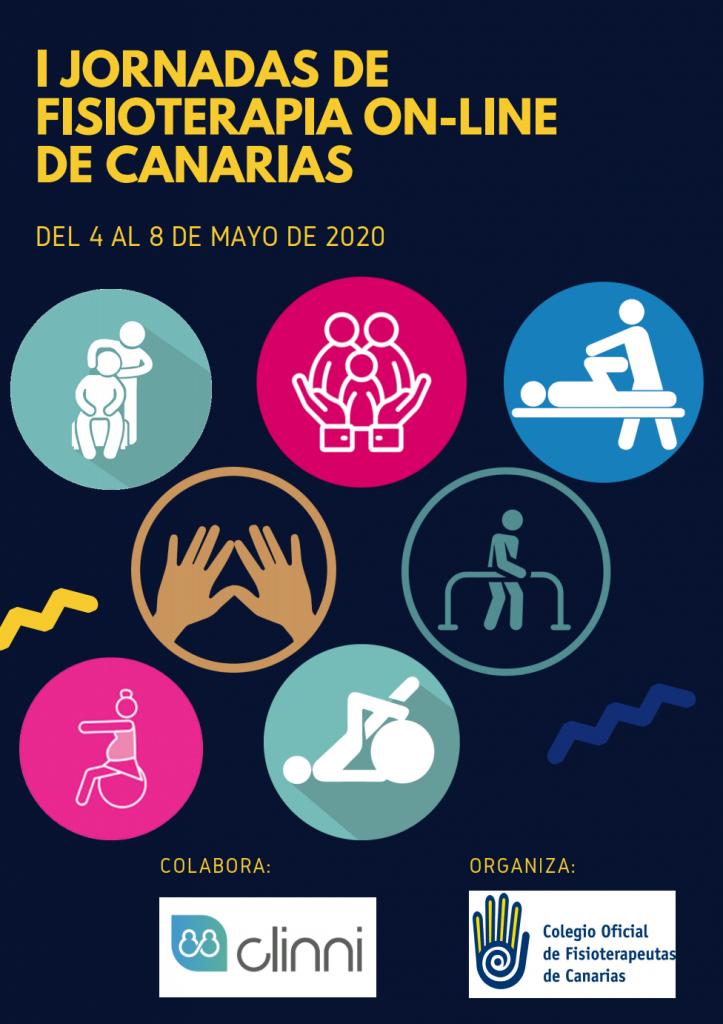 I Jornadas de Fisioterapia On-Line de Canarias